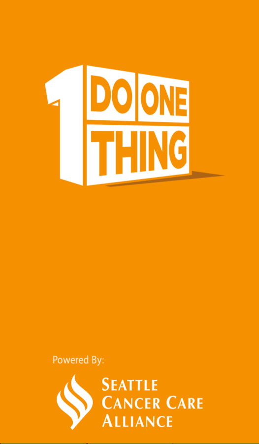 Do One Thing (by SCCA) - screenshot