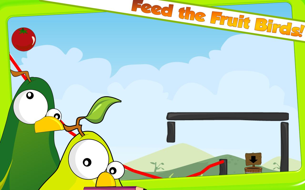 Fruit Birds Draw - screenshot