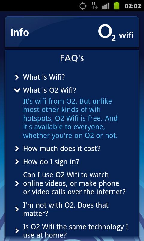 O2 Wifi - screenshot