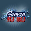 95.3 & 102.3 The Breeze icon