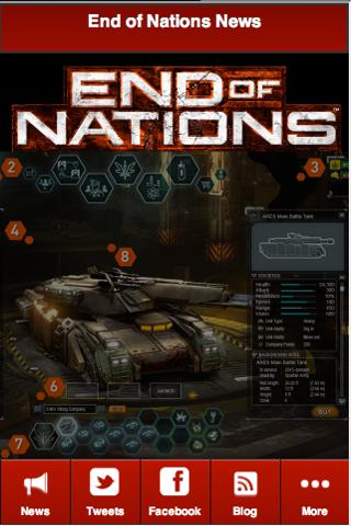 End of Nations Companion - screenshot