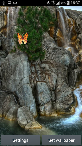 풍경 애니메이션 배경 화면