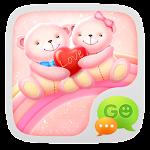Aplicación GO SMS Pro Bear Lovers Theme