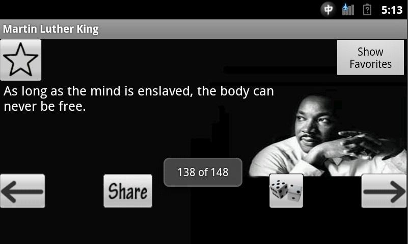 Martin Luther King Jr Quotes - screenshot