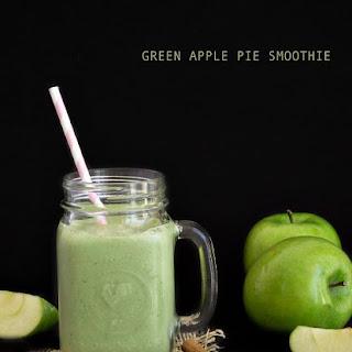 Green Apple Pie Smoothie.