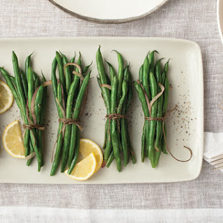 Roasted Green Bean Bundles