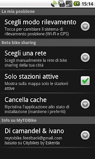 MyTOBike - screenshot thumbnail