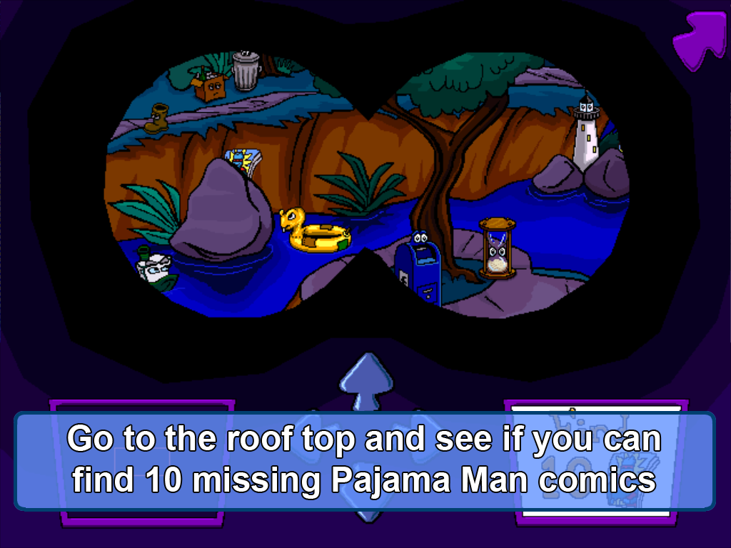 Pajama Sam Thunder & Lightning- screenshot