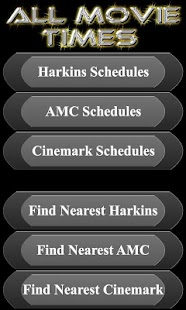 All Movie Times + AMC Cinemark - screenshot thumbnail
