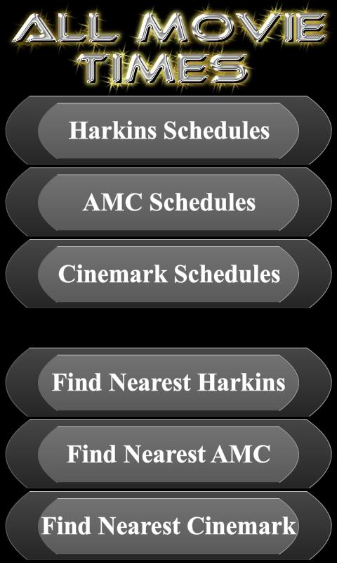 All Movie Times + AMC Cinemark - screenshot