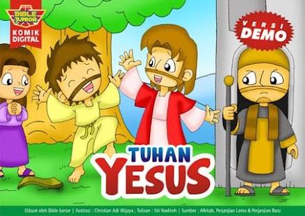 Komik Alkitab: TUHAN YESUS D