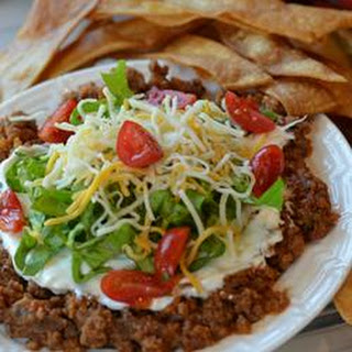 Beef and Salsa Dip.