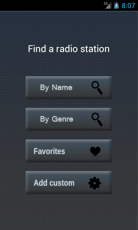 playStream Internet Radio- screenshot