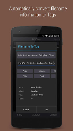 Music Tagger - Tag Editor 1.1.9r screenshot 393719