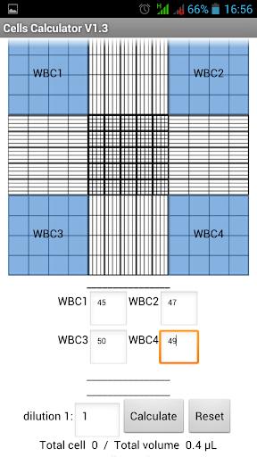 Cells Calculator