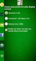Screenshot of Pocket Sportsbook - Bookie App