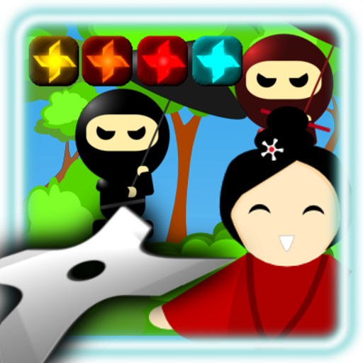 手裏剣撮影:忍者ゲーム 街機 App LOGO-APP試玩