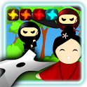 Shuriken Shoot :The ninja game icon