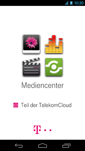 Mediencenter - Telekom Cloud