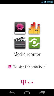 Mediencenter - Telekom Cloud - screenshot thumbnail
