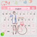 Girl For Go Keyboard Theme icon