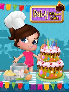 Baby Kitchen Cake Cooking Game