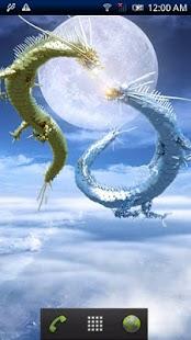 Rising Dragon Moonlight