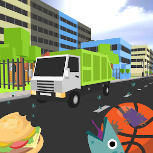 garbage dump truck parking for PC and MAC