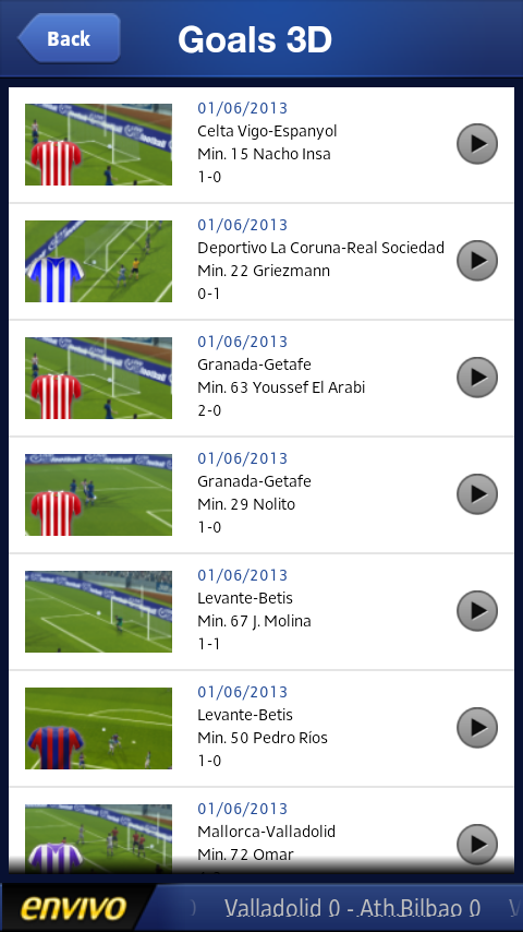 Liga BBVA - screenshot