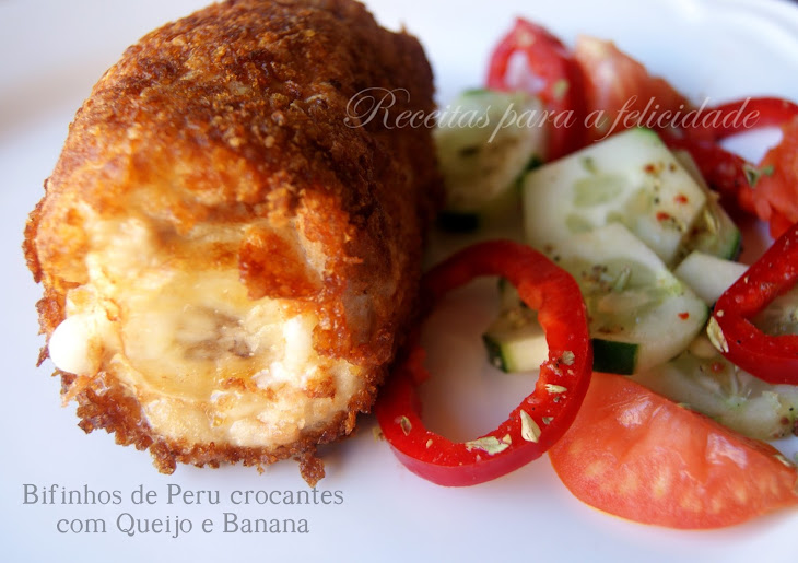 Crunchy Turkey Fillets with Cheese and Banana Recipe