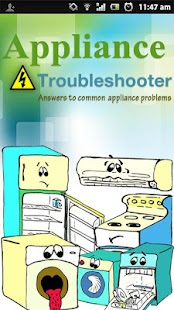 APPLIANCE TROUBLESHOOTER- screenshot thumbnail
