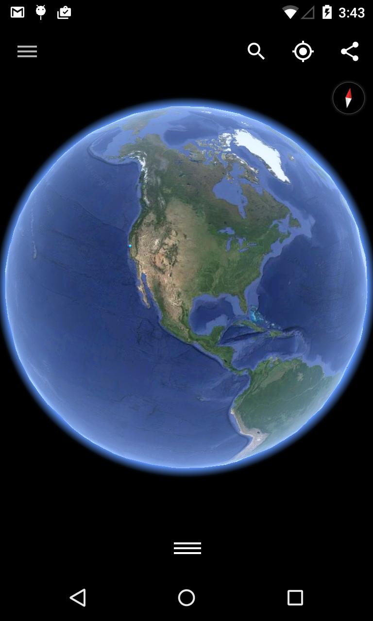 Google Earth screenshot #1