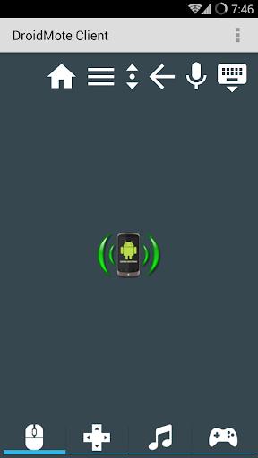 DroidMote Client