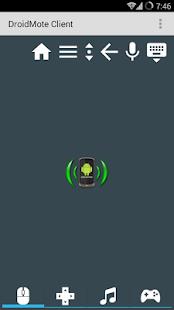 DroidMote Client - screenshot thumbnail