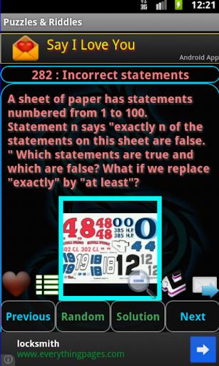 【免費解謎App】Puzzles & Riddles Free-APP點子