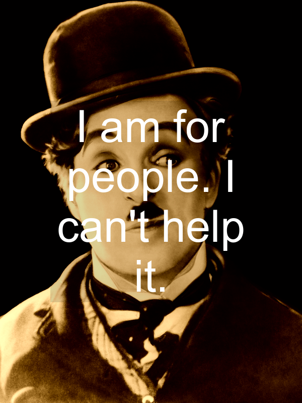❝ Charlie Chaplin quotes - screenshot