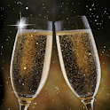 Champagne toast Live Wallpaper logo