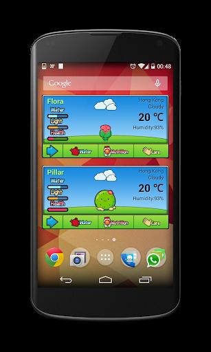Plant Me - Poke Weather Widget