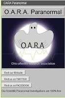 Screenshot of OARA Paranormal