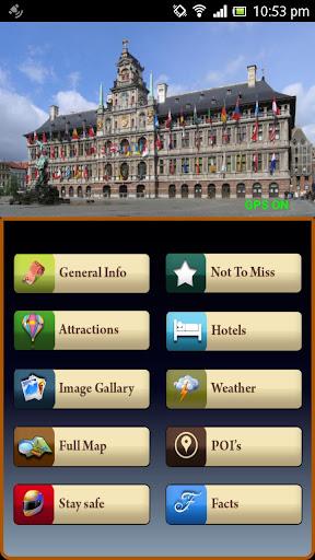 Antwerp Offline Travel Guide
