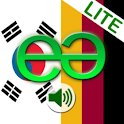 Korean to German Lite logo