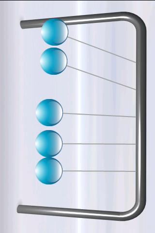 Newton's Cradle - screenshot