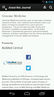Genome Medicine - screenshot thumbnail