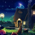 Night Garden Wallpaper - Free icon