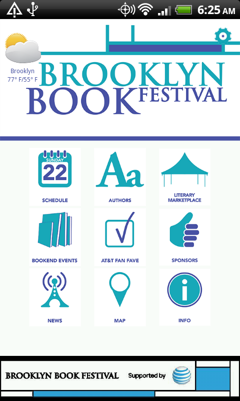 Brooklyn Book Festival 2013 - screenshot