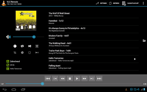 Remote for VLC (Stream Fork)- screenshot thumbnail