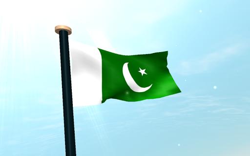 파키스탄 국기 3D 라이브 배경화면|玩個人化App免費|玩APPs