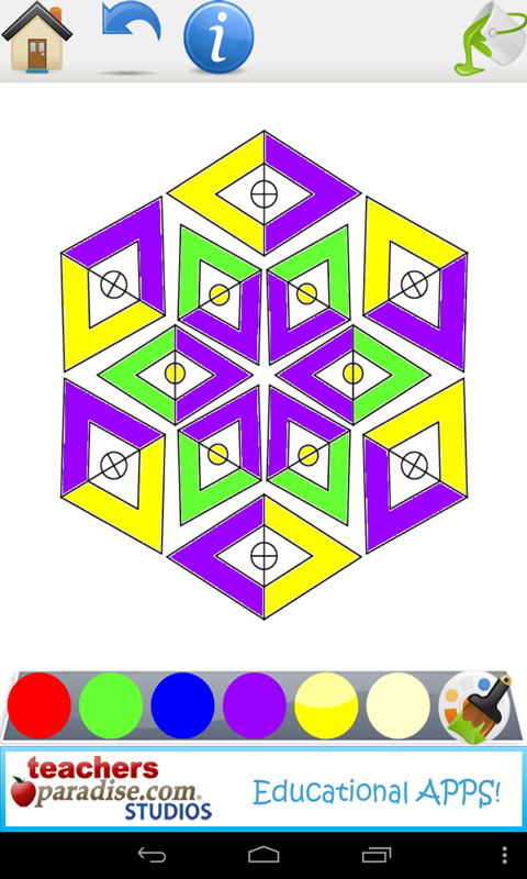 Adult Coloring Books Mandalas Screenshot