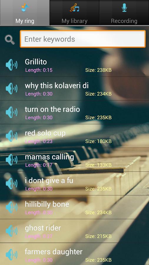 Country Music Ringtones - screenshot