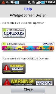 CONEXUS NW Select Application - screenshot thumbnail